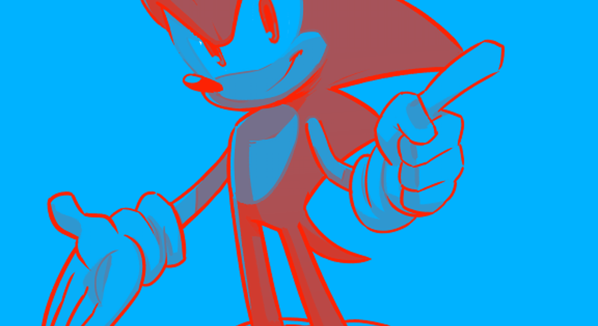 Sonice the Hedgehog from Sega's classic video games franchise. Video games. Sonic. Sega.