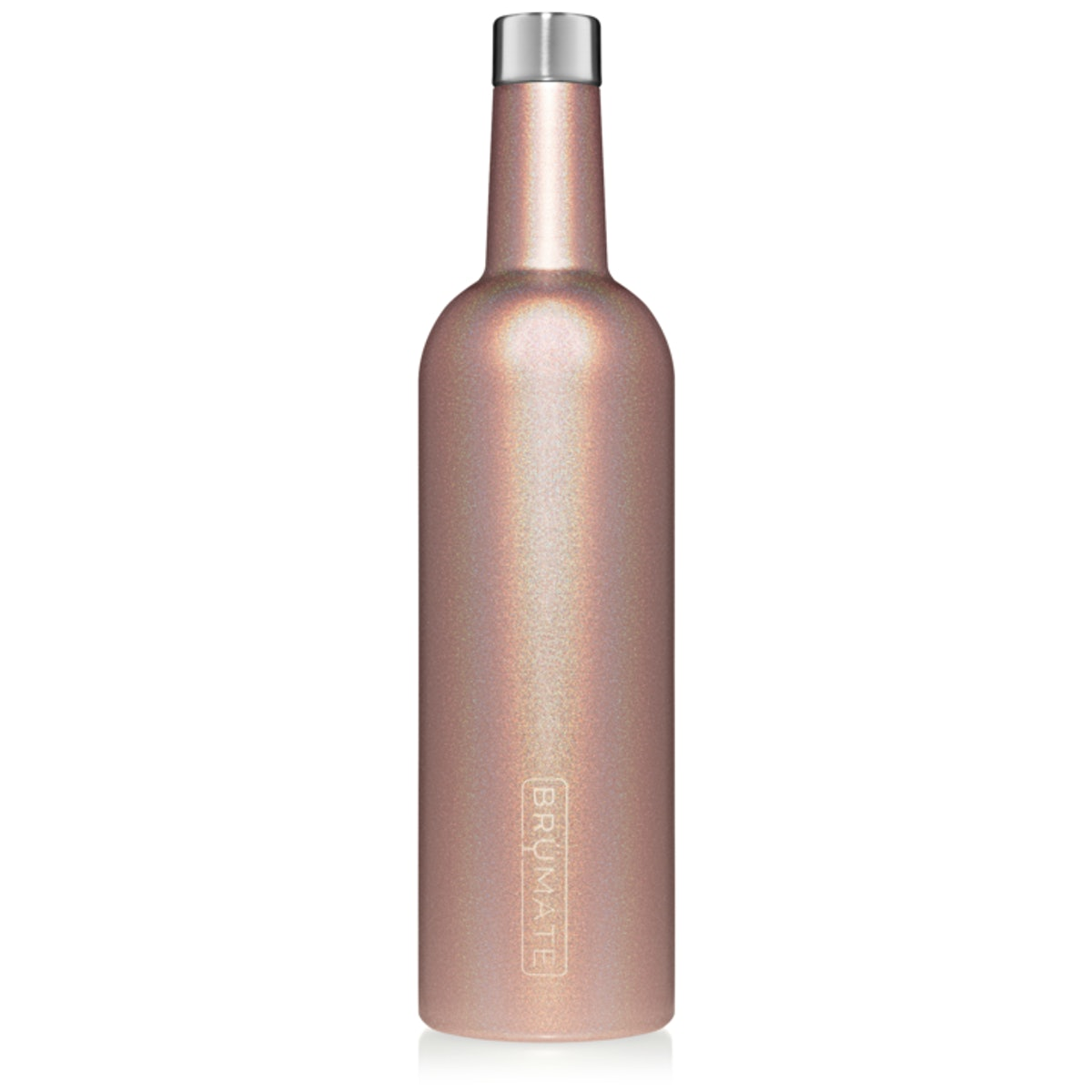 Winesulator 25-ounce Wine Canteen V2.0 in Glitter Rose Gold