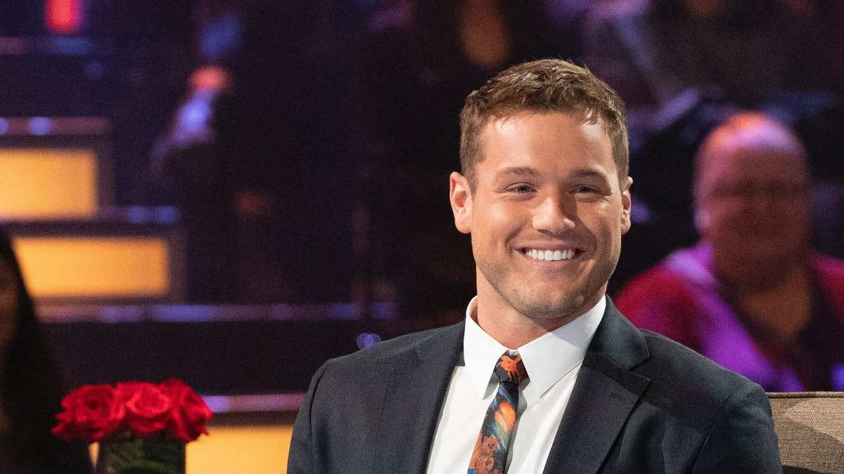 Colton Underwood in The Bachelor.