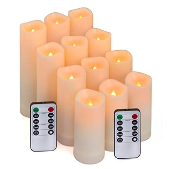 Algnis Flameless Candles (Set of 12)