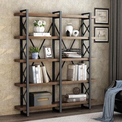 LITTLE TREE Double Wide Open Bookcase