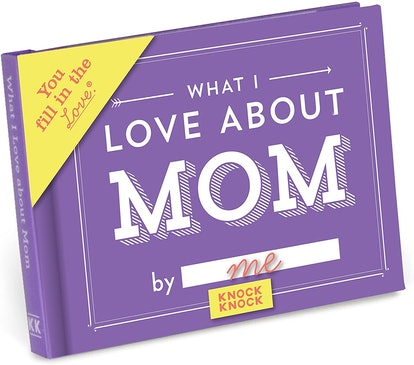 Knock Knock 'What I Love about Mom' Fill-in-the-Blank Gift Journal