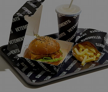 Vetements Burger