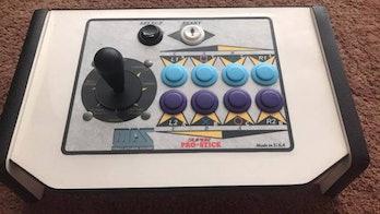 A MAS arcade joystick.