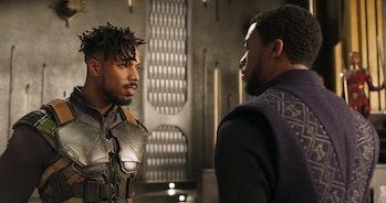Killmonger in Black Panther.
