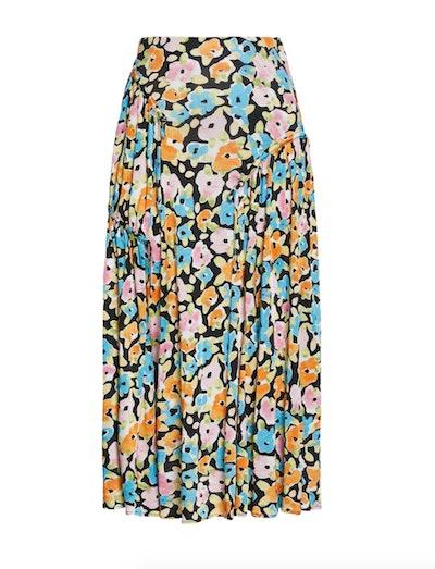 Paloma Floral Jersey Skirt