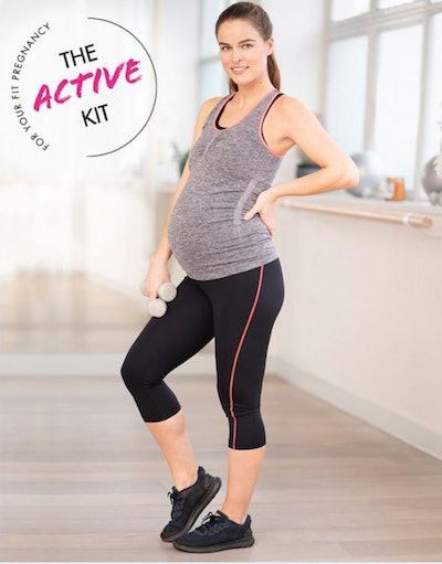 The 2 Piece Active Kit – Prenatal Yoga & Workout Clothes
