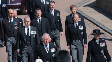 Royal Family gathers for Prince Philip's funeral.