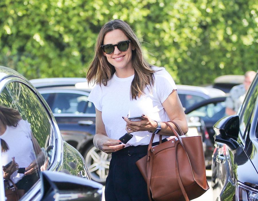 LOS ANGELES, CA - OCTOBER 24: Jennifer Garner is seen on October 24, 2019 in Los Angeles, California.