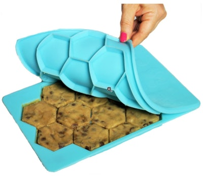 Shape+Store Cookie Cutter and Freezer Container