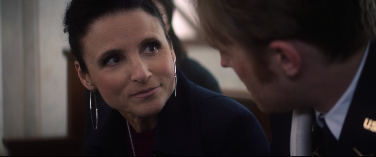 Julia Louis-Dreyfus in The Falcon and the Winter Soldier.