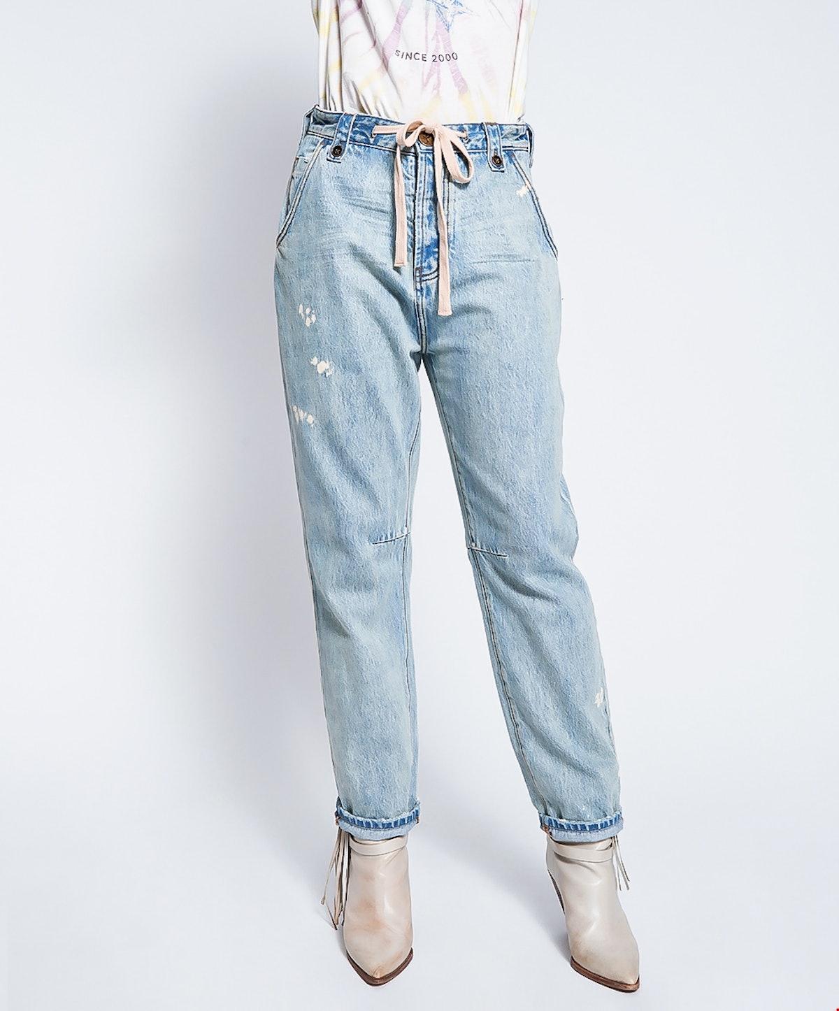 Kansas Safari Mid-Waist Relaxed Jeans