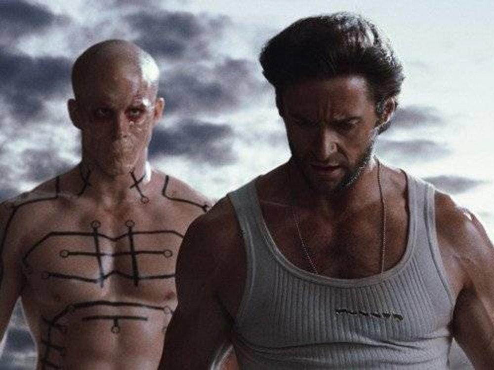 Deadpool in X-Men Origins: Wolverine.