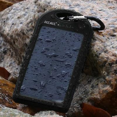 Dizaul Solar Phone Charger (5000mAh)