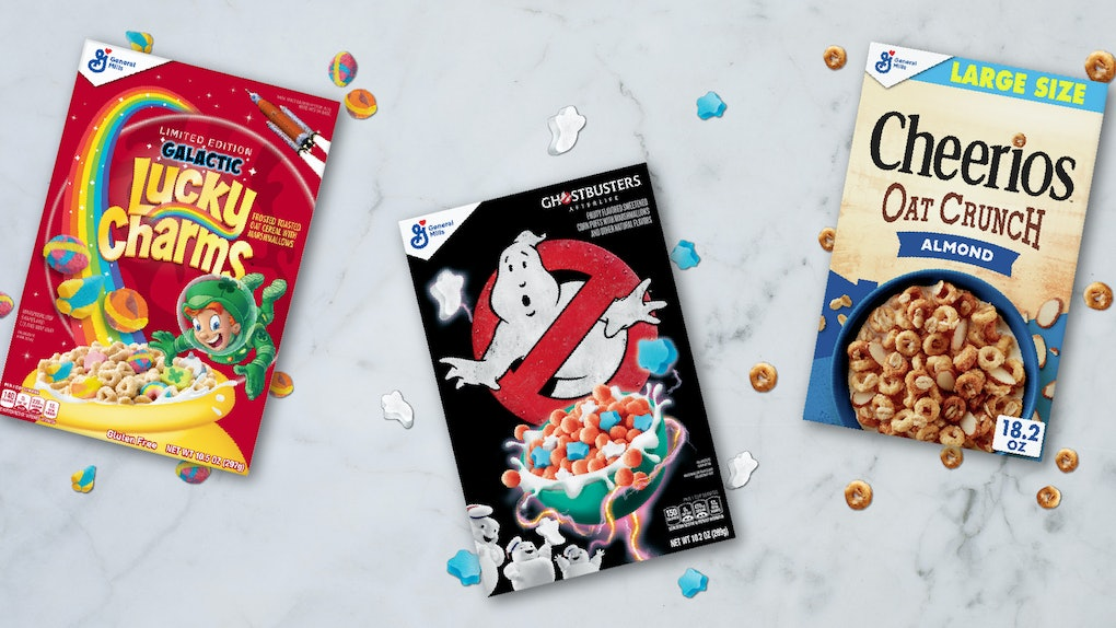General Mills' 'Ghostbusters' cereal is a fruity bite with the cutest ghost shapes.