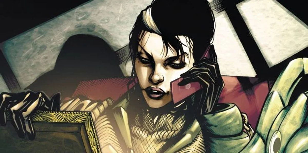 Madam Hydra in the Marvel comics.