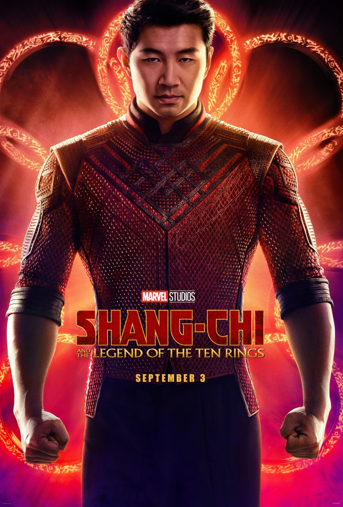 The full poster for Shang-Chi & The Legend of the Ten Rings