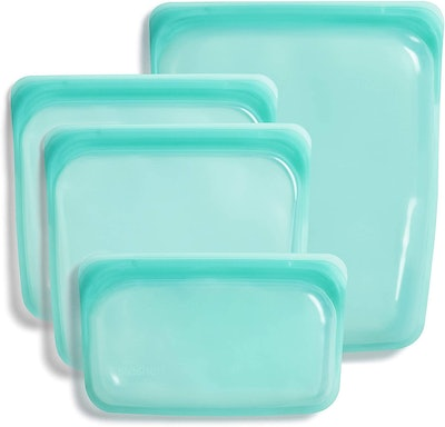 Stasher Reusable Storage Bags (4-Pack)