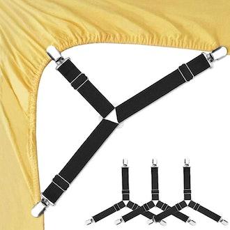 Foloda Bed Sheet Fasteners (4 PCS)