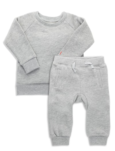 The Daily Lounge Set in Gray