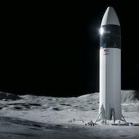SpaceX Starship: Stunning new concept art reveals NASA's lunar lander