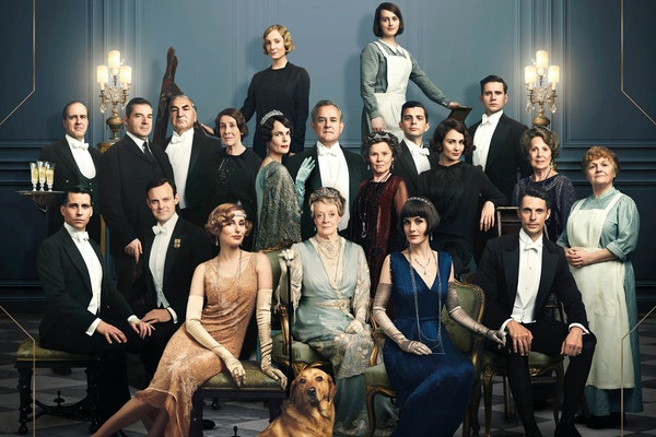 The cast of the Downton Abbey movie