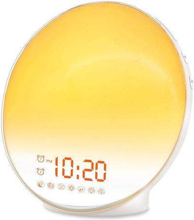 JALL Wake-Up Light Alarm Clock