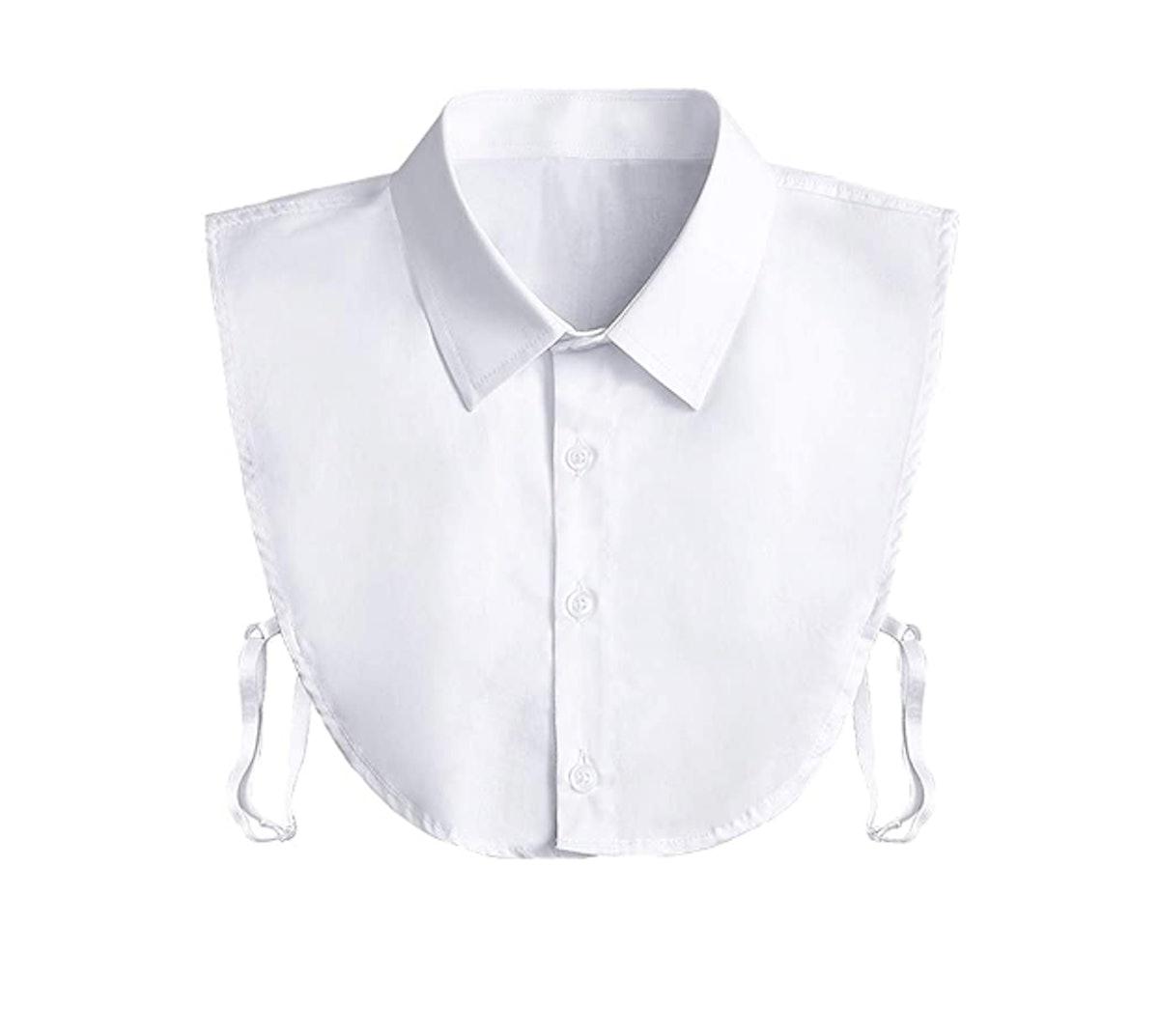 Kalkehay Detachable Dickey Collar Blouse
