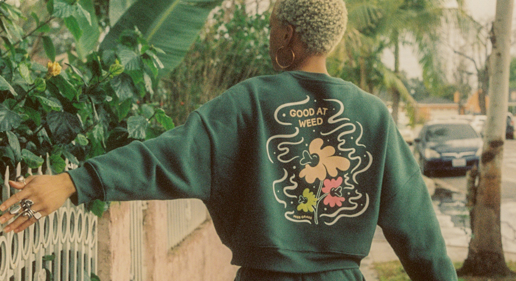 Miss Grass Sweatshirt.