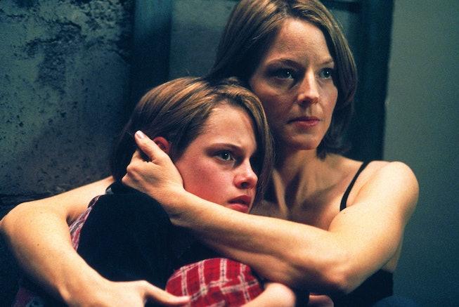 Kristen Stewart and Jodie Foster in Panic Room (2002).