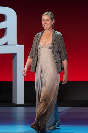 Frances McDormand on stage
