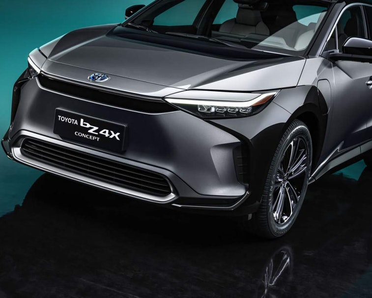 Toyota has unveiled the bZ4X, an all-electric SUV set to enter production in mid-2022.