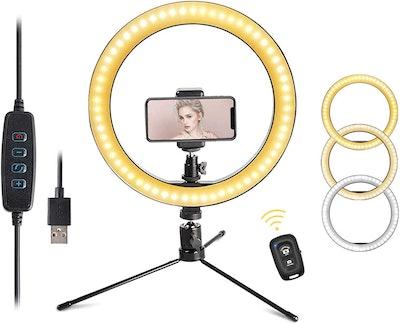 CoutureBridal Desktop Selfie Ring Light