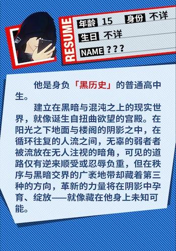 Code Name: X Hooded Man Persona 5 BIO