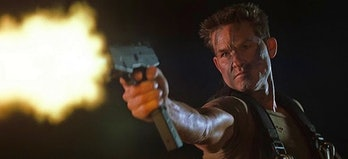 Kurt Russell in Soldier.