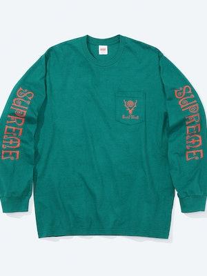 Supreme South2 West8 Longsleeve T-Shirt