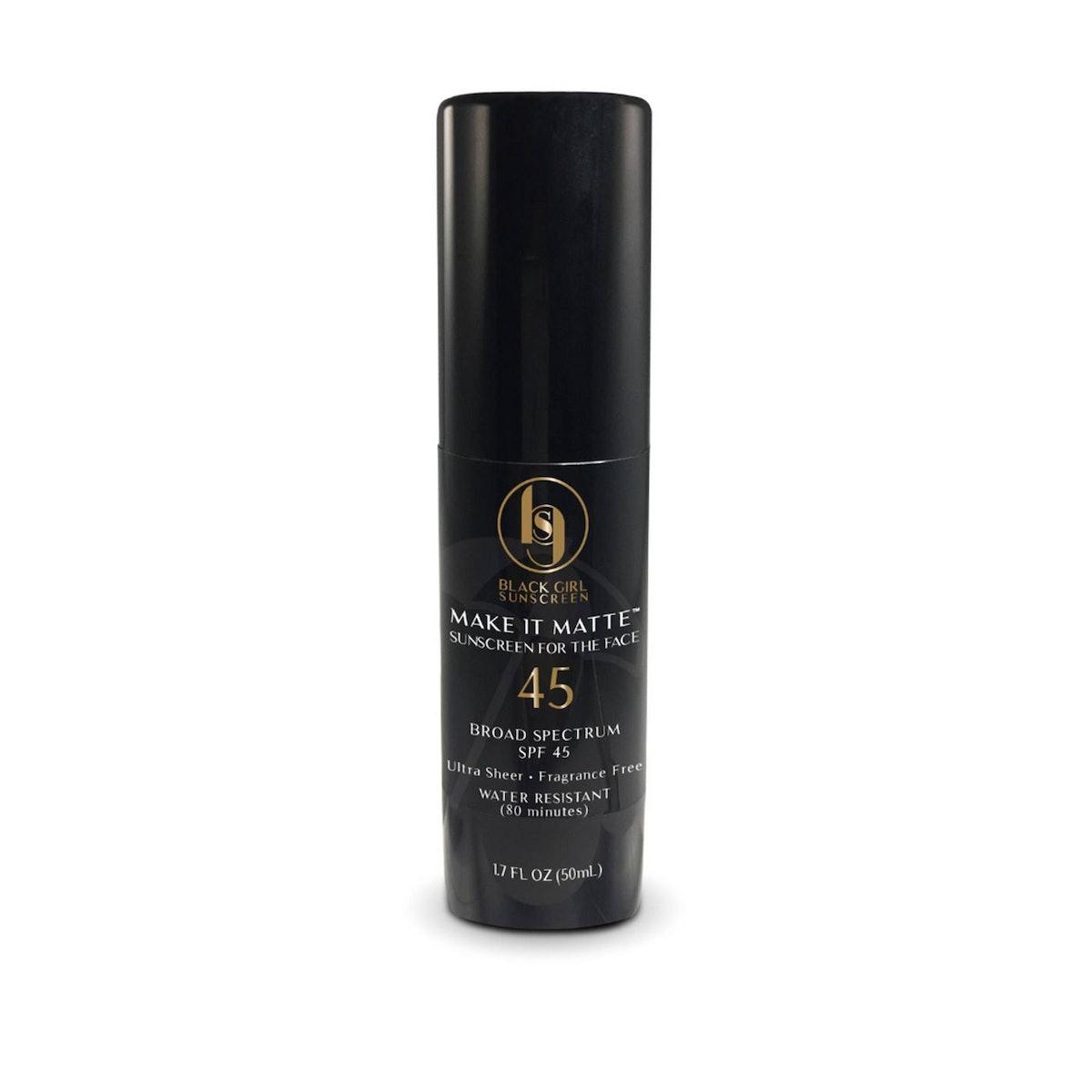 Black Girl Sunscreen Make It Matte Sunscreen - SPF 45
