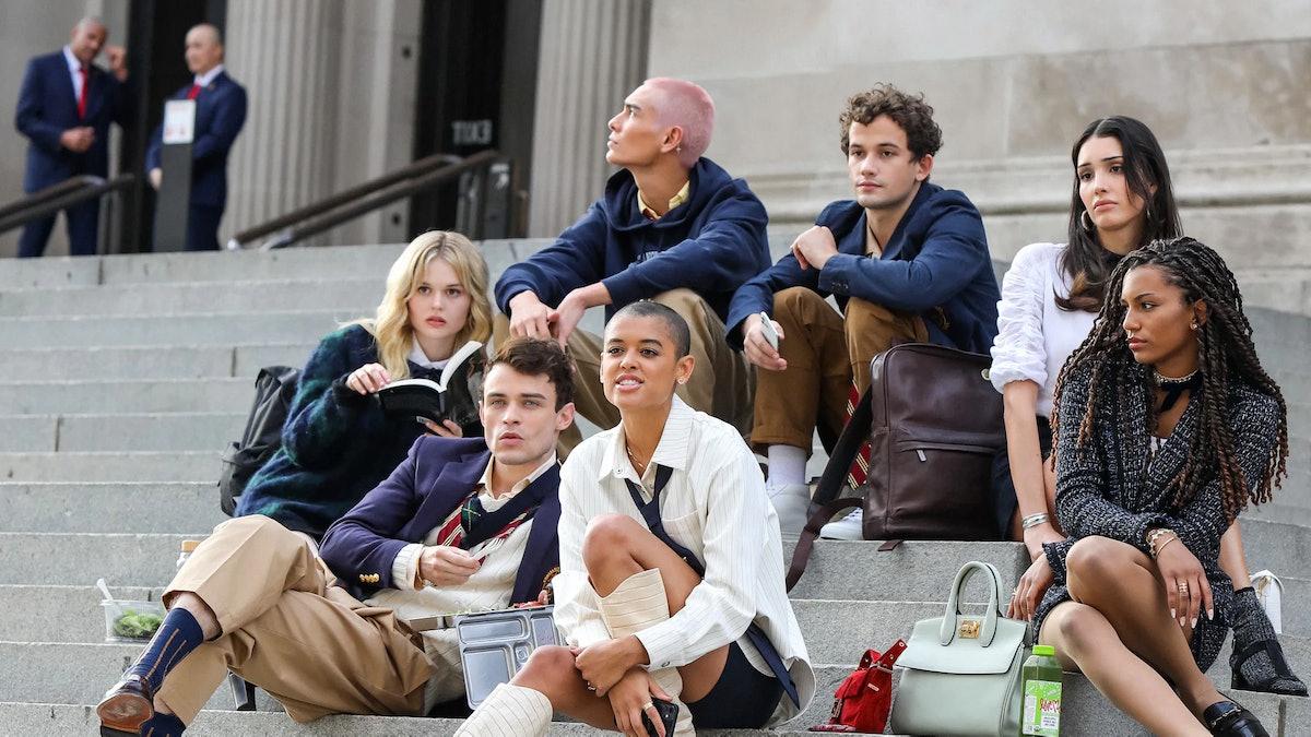 The cast of HBO Max's 'Gossip Girl' reboot