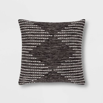 Modern Stitched Square Throw Pillow