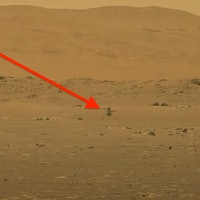 Ingenuity helicopter video shows NASA's historic first flight on Mars