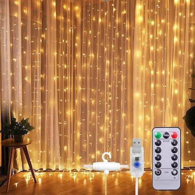 SUNNEST Fairy Light Curtain