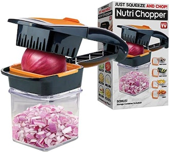Nutrichopper Food Chopper With Fresh-keeping container