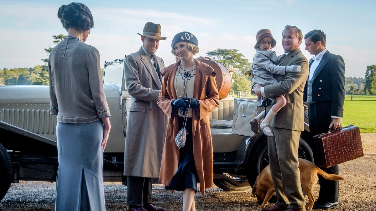 Still from the Downton Abbey movie