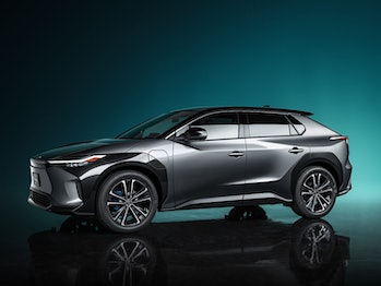 Toyota's bZ4X is an all-electric SUV the company plans to introduce by mid-2022.
