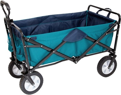 MacSports Heavy Duty Collapsible Outdoor Folding Wagon