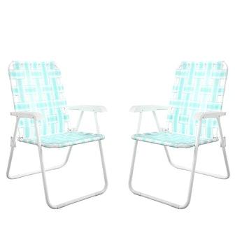 Novogratz xo SJP: Priscilla Folding Chair (Set of 2)