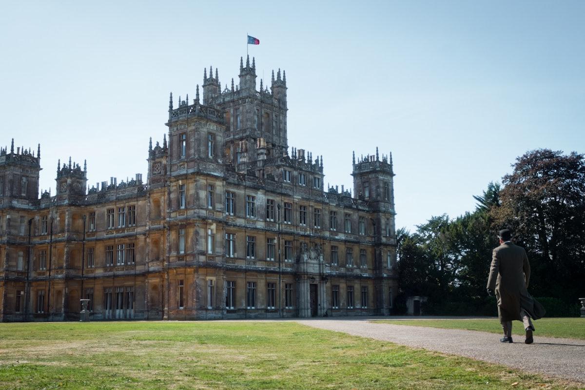 Highclere Castle as Downton Abbey