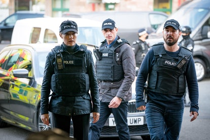 DCI Joanne Davidson, DS Chris Lomax and DI Steve Arnott in 'Line of Duty' season six