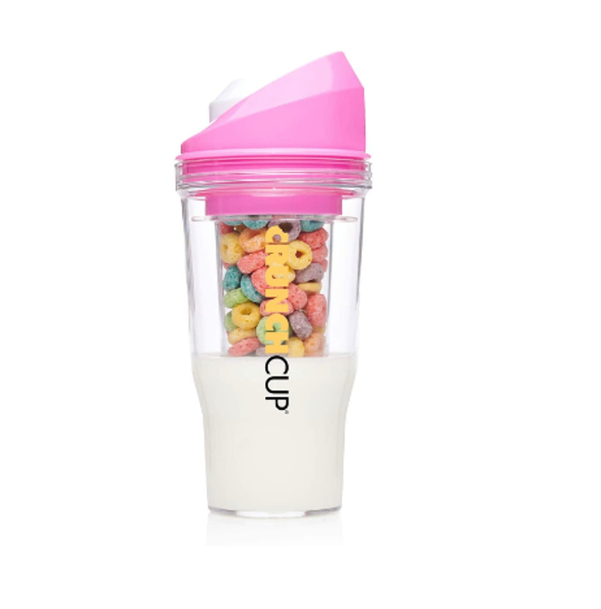 The CrunchCup - Portable Cereal Cup