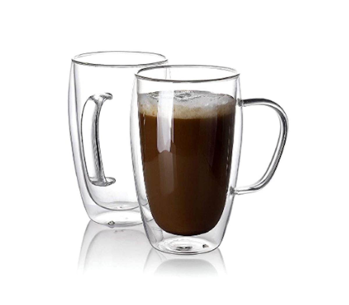 Sweese Glass Coffee Mugs